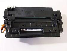 Genuine HP Q7551A 51A Black Toner Cartridge LaserJet P3005 M3027 mfp M3035 mfp