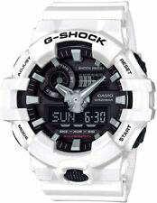 Casio G-shock GA-700-7A Wrist Watch for Men White Strap Analog-Digital GA700-7A