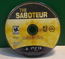Saboteur (Sony PlayStation 3, 2009) DISC ONLY 13360