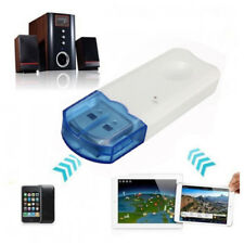 USB BLUETOOTH WIRELESS STEREO AUDIO MUSIC RECEIVER ADAPTER DONGLE AUX A2DP