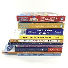 Board Books For Babies - Disney, Peter Rabbit, Easter, & Dr. Seuss Set of 10  -o