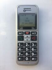 Geemarc CL8200 - Silver (Unlocked) Mobile Phone