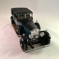 Franklin Mint 1/24 Scale Diecast Fmc4 1929 Rolls Royce Phantom I Cabriolet