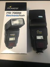 Promaster FTD 7000M Electronic Flash For Pentax Mount