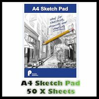 A4 Sketch Pad Bright White Paper Artist Sketching Drawing Doodling Art Craft Uk