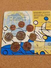 greece 2009 euro coin set