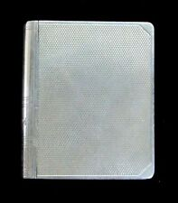 EXCEPTIONAL 1936 BIRMINGHAM STERLING SILVER MATCH BOOK CASE