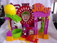 FISHER PRICE IMAGINEXT DC THE JOKER LAFF FACTORY COMPLETE