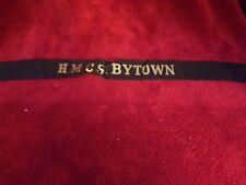 Canadian Navy-H.M.C.S Bytown Black Hat Ribbon