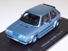 1/43 Spark Volkswagen Golf MK1 Kamei X1  Light Blue  S3212