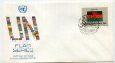 United Nations #403 Flag Series, Malawi, Official Geneva Cachet, Fdc