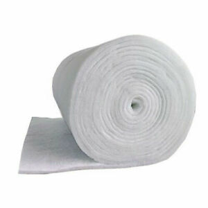 "Aquarium Filter Media Wadding Wool Floss Replacement Foam 12mm Thick 39""/1m Wide"