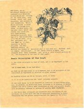 Book of Shadows Spell Pages ** Basic Principles of the Craft ** Wicca Witchcraft