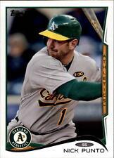 2014 Topps Update #US75 Nick Punto Oakland Athletics