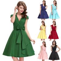 50er 60er Jahre Kleid Abendkleid Cocktailkleid Mode Stretchkleid Petticoat Kleid