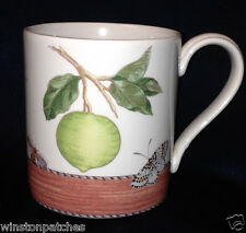 WEDGWOOD ENGLAND 1997 SARAH'S GARDEN MUG 18 OZ AVOCADO & LIME SOUP RECIPE