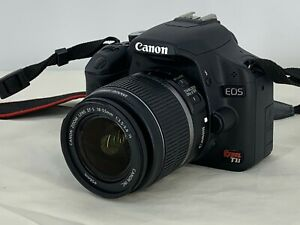 Canon EOS Rebel T1i / EOS 500D 15.1MP Digital SLR Camera - Black (Kit w/ EF-S...