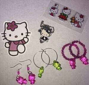 hello kitty y2k jewellery set