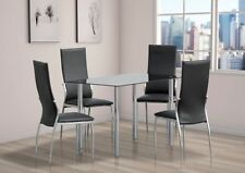 Living Room Table & Chair Sets with 8 Pieces