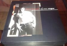 EDITION PROMO HORS COMMERCE JOHNNY HALLYDAY INTROUVABLE COFFRET LES ANNEES VOGUE