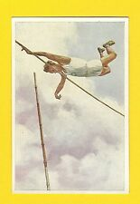 Track and Field High Jump Vintage 1932 Sanella Sports Card #99