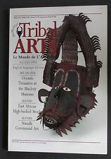 """TRIBAL ARTS"" MAGAZINE ""OUT OF PRINT"" ISSUE 6 AUTUMN 1995 OCEANIC FISH HOOKS"