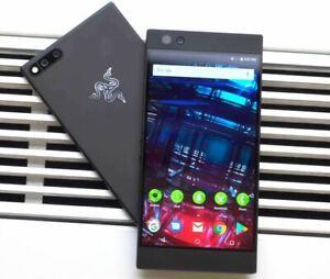 Razer Phone - 64GB - Black (Unlocked) Cell Phone GRADEs