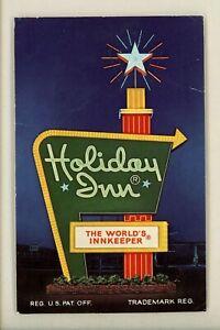 Holiday Inn Motel Hotel Postcard Georgia GA Rome Type 5