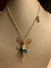 Betsey Johnson Fairyland Fairy Pendant Necklace