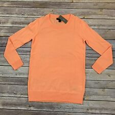 NWT J.Crew 3/4 Sleeve Merino Wool Sweater Crew Neck Lightweight Women's Sz XXS