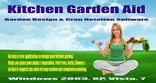 Kitchen Garden Aid - Garden Design and Crop Rotation Software