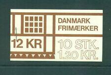Denmark 1978 12Kr Tourism Jutland Booklet HS22