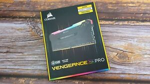 Corsair Vengeance RGB PRO 32 GB (4 x 8GB) DDR4 3200 MHz C14 XMP 2.0 Enthusiast