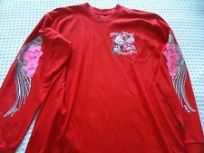 NEW Adult size Large Red Long Sleeve Daytona Beach Bike Week 2013   Tee Shirt