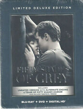 FIFTY SHADES OF GREY LIMITED DELUXE EDITION BLU-RAY & DVD (H1)
