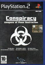 CONSPIRACY WEAPONS OF MASS DESTRUCTION - PS2 (USATO)