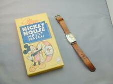Vintage 1947 US Time Walt Disney Production Mickey Mouse Watch In Original Box