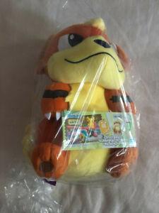 Bandai Pokemon Growlithe Plush 25cm - Japanese Claw Machine Prize