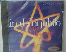 """""""In Dulci Jubilo"""" - """"A Choral Christmas"""" Classic Fm Promo CD. BRAND NEW & SEALED"""