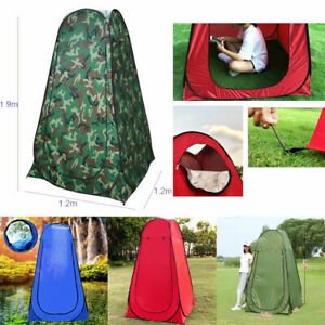 Portable Pop Up Utility Tent Camping Shower Toilet Changing Single Room With Bag