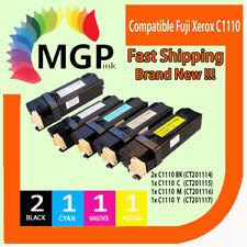 5PK NEW TONER CARTRIDGE for FUJI XEROX C1110 C1110B 1110 Docuprint printer