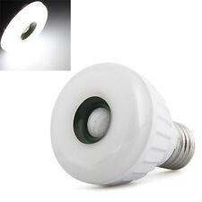 E27 25 LED 3528 SMD Lampada Lampadina Sensore di Movimento Bianco 5 Watt HK