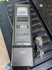 Panasonic Cockpit Stereo Cassette Rm-310 Overhead W/ harness Hot Rod Rat Rod