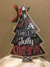 The Round Top Collection - Christmas tree wall decor