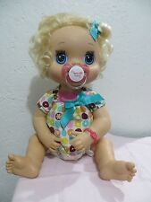 BABY ALIVE MAGNETIC PACIFIER  Princess in 2010 17in BABY ALIVE DOLL -See Desc
