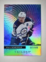 2017-18 17-18 Upper Deck UD Trilogy Blue Foil #9 Mark Scheifele /999