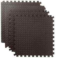6 pieces 61cm x 61cm Interlocking Foam Mats Tiles Gym Play Garage Workshop Floor