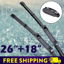 "26""+18"" Car Front Window Windshield Frameless Wiper for Civic Camry Hyundai Jeep"