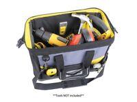 Stanley Tools STA196183 Open Tote Tool Bag 16INCH 1-96-183 RIGID WATERPROOF BASE