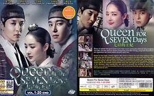 QUEEN FOR SEVEN DAYS 7일의 왕비 七日的王妃 (1-20 End) 2017 Korean Drama DVD English Subs